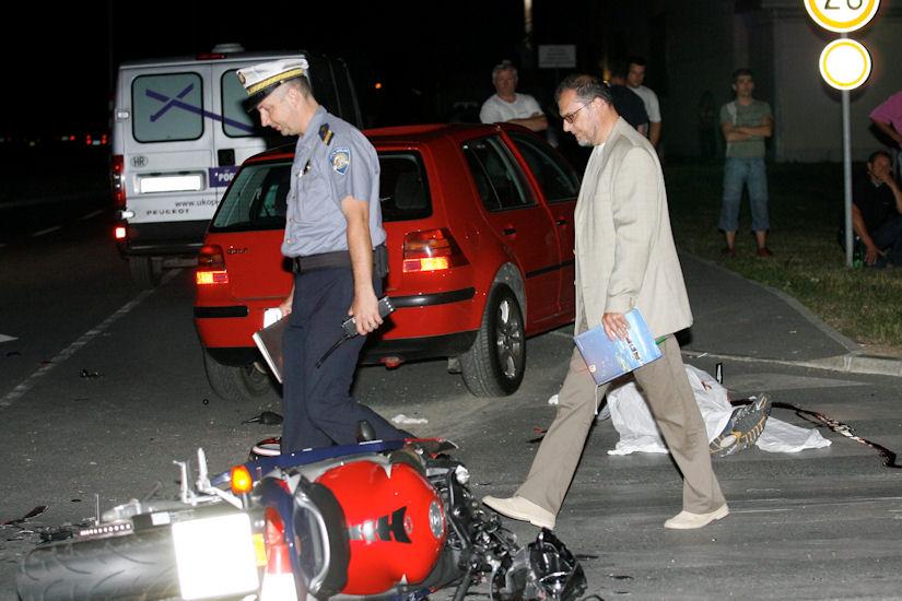 motociklist pogibija