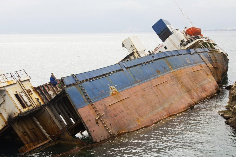 prevrtanje broda