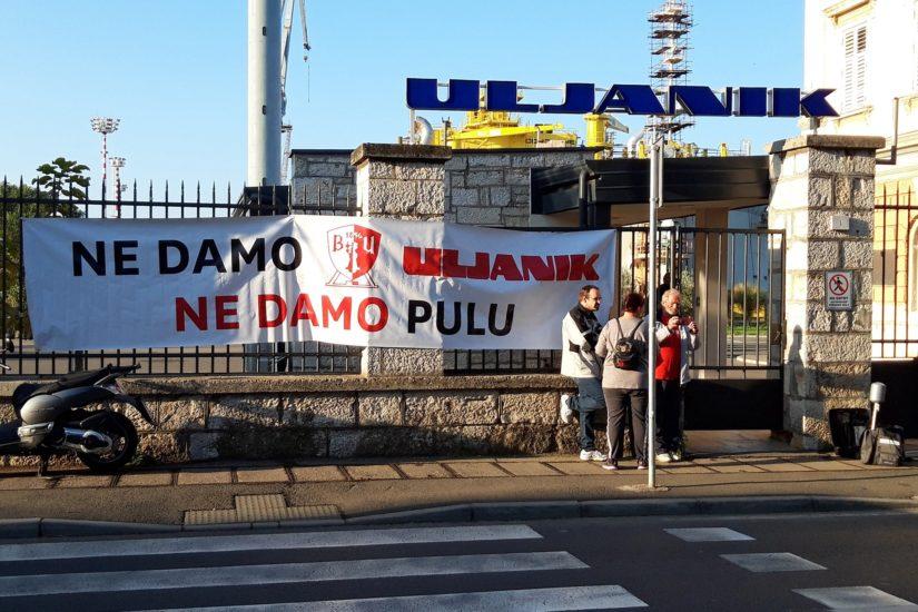 štrajk u uljaniku