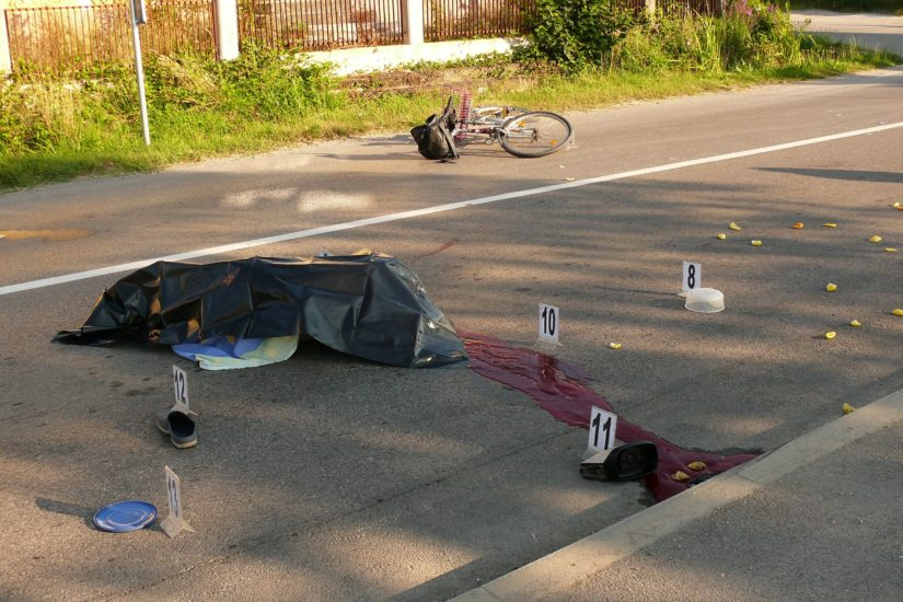pad bicikl