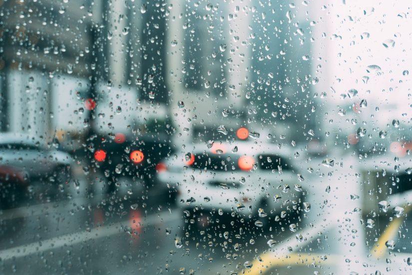 kiše auto
